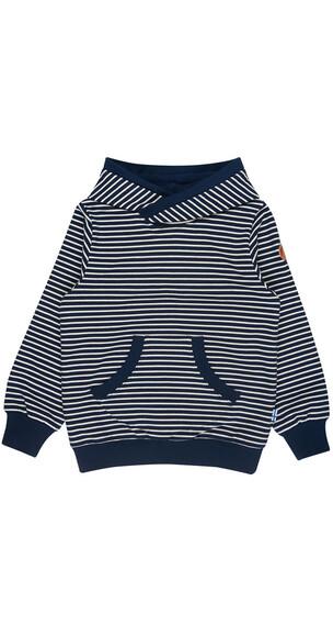 Finkid Juttu sweater blauw/wit